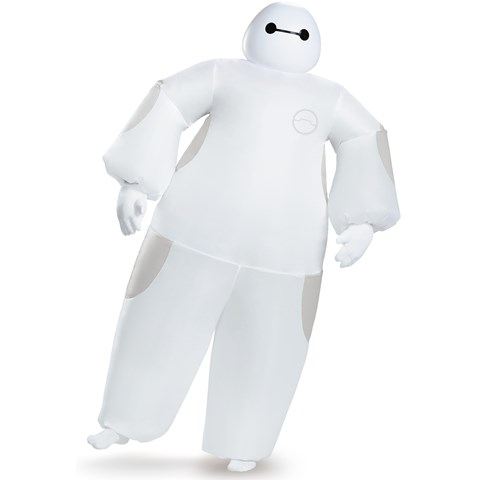 Big Hero 6: White Adult Baymax Inflatable Costume