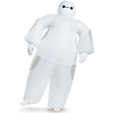 Big Hero 6: White Adult Baymax Inflatable Costume