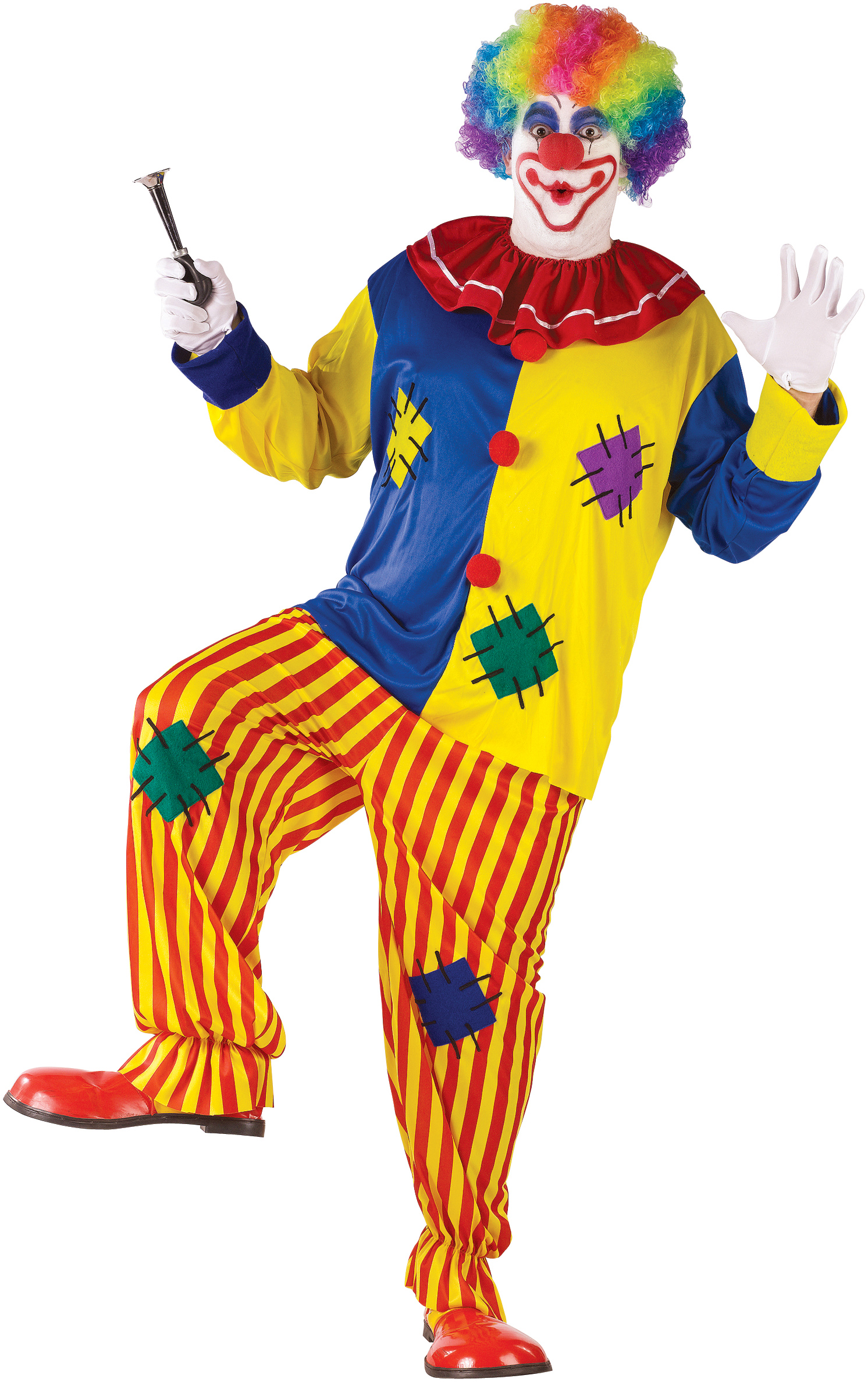 Big Top Clown Adult Plus Costume | BuyCostumes.com