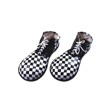 Black & White Adult Clown Shoes