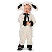Black and White Baby Lamb Toddler Costume