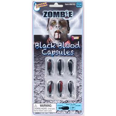 Black Blood Caps