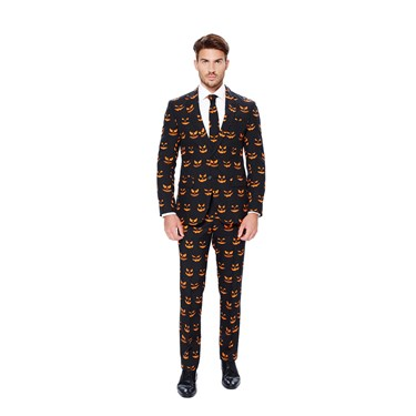 Black-O Jack-O Opposuits Adult Costume