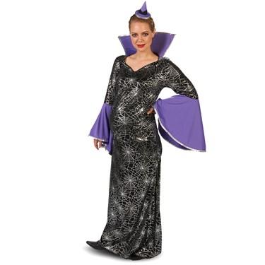 Black Spiderweb Dress Adult Maternity Costume