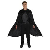 Black Velvet Adult Plus Cape One Size