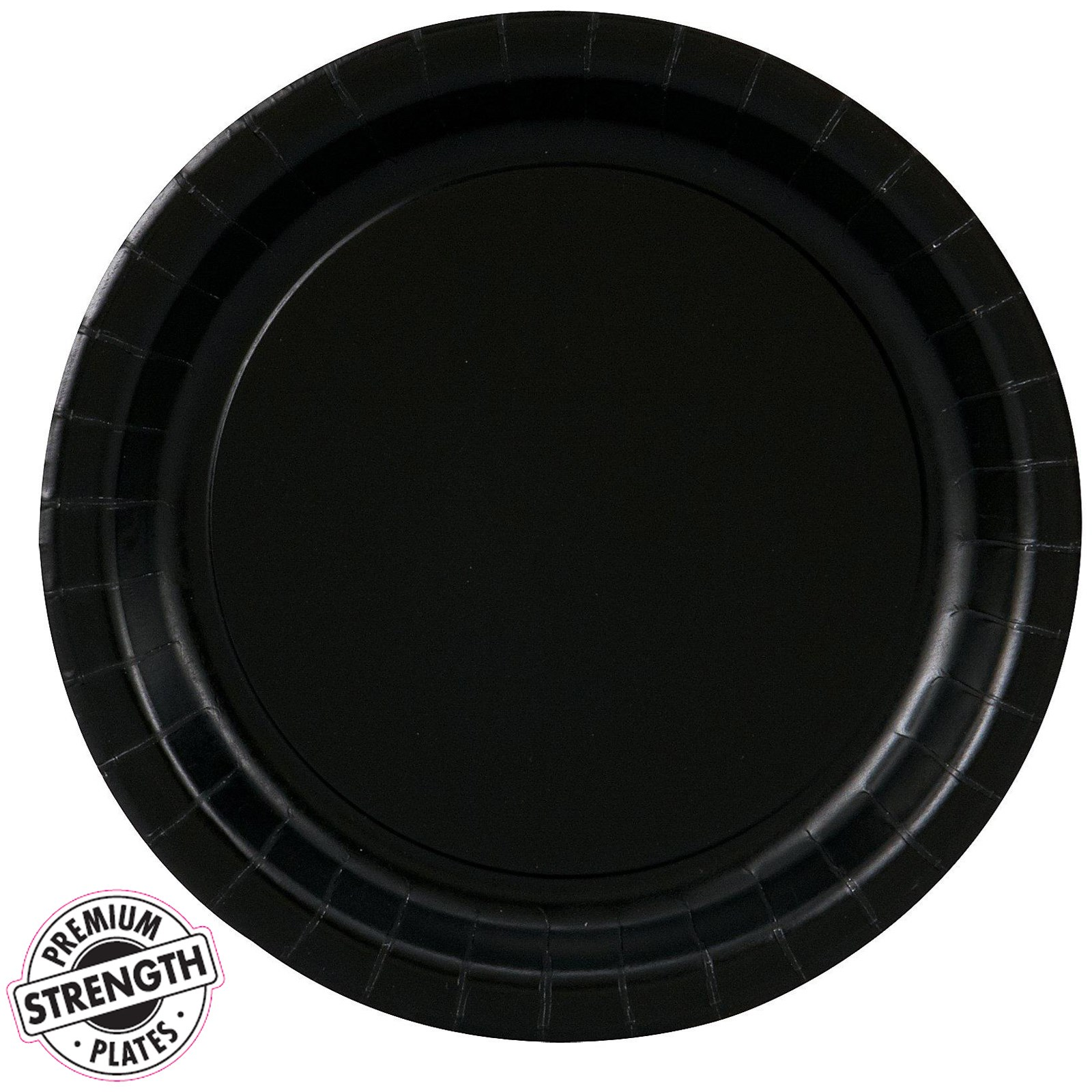 black velvet black dessert plates 24 count. Black Bedroom Furniture Sets. Home Design Ideas