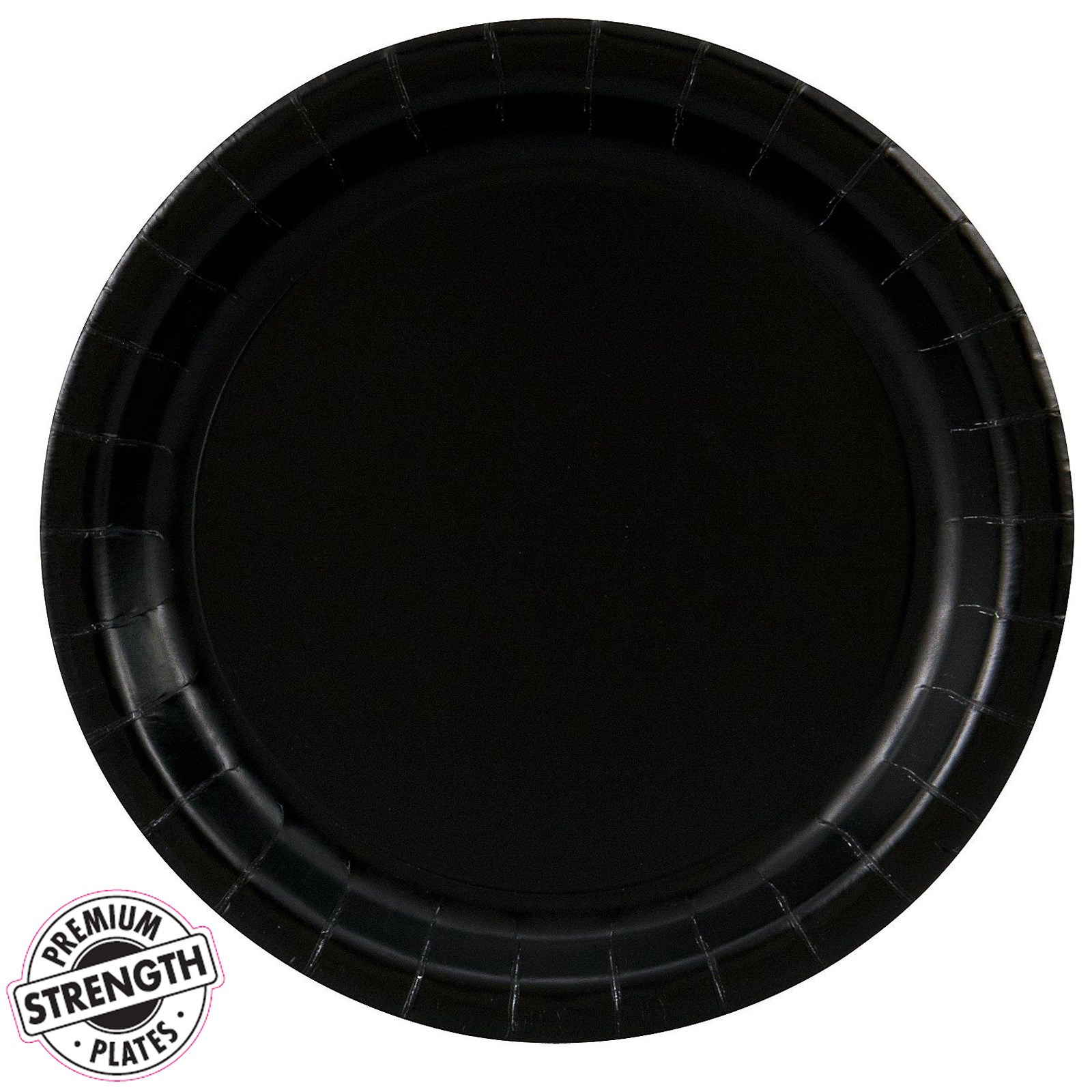 black velvet black dinner plates 24 count. Black Bedroom Furniture Sets. Home Design Ideas