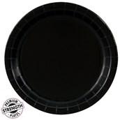 Black Velvet (Black) Dinner Plates (24 count)