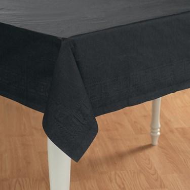 Black Velvet (Black) Paper Tablecover