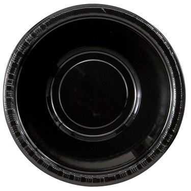 Black Velvet (Black) Plastic Bowls (20 count)