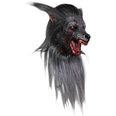 Black Wolf Adult Mask