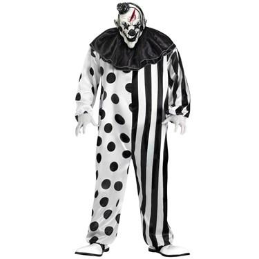 Bleeding Killer Clown Adult Plus Costume