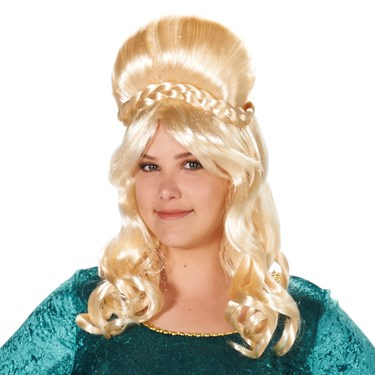 Royal Renaissance with Braid Adult Wig