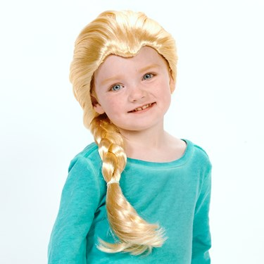 Blonde Braid Child Wig