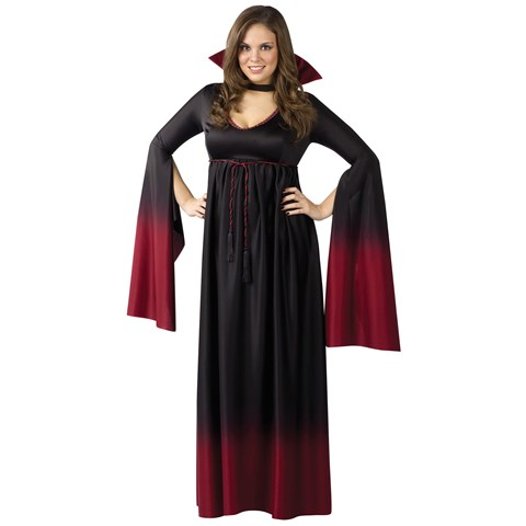 Blood Vampiress Adult Plus Costume
