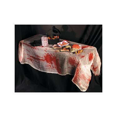 Bloody Gauze Table Cover