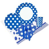 Blue and White Dots Event Pack