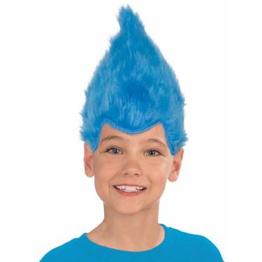 Blue Child Fuzzy Wig
