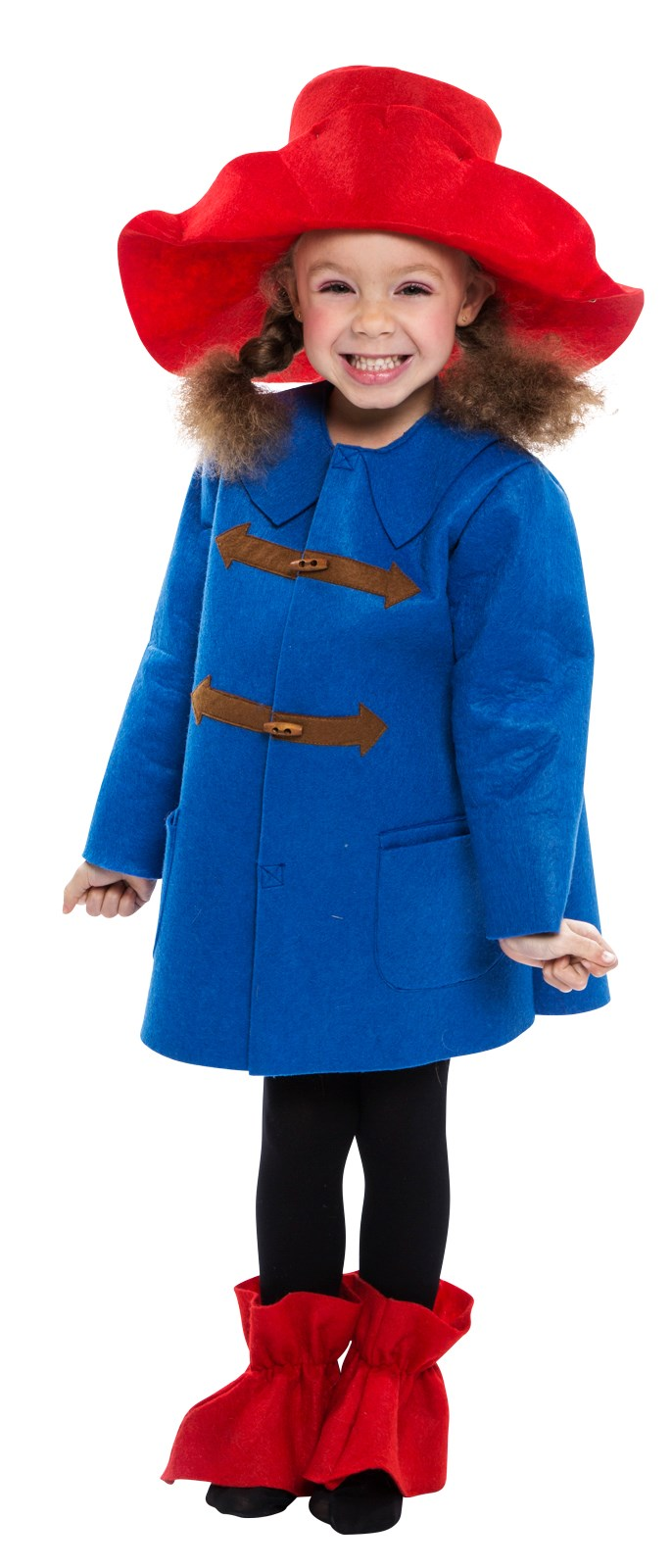 Blue Coat Bear Costume for Toddlers