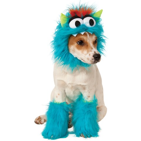 Blue Monster Pet Costume