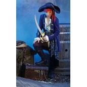 Blue Pirate Boy Child Costume