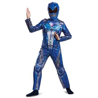 Blue Ranger Movie 2017 Classic Child Costume