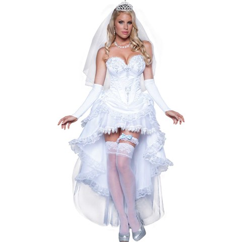 Blushing Bride Dress - Womens Costume