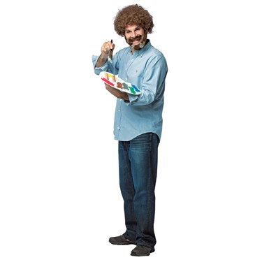 Bob Ross Adult Costume
