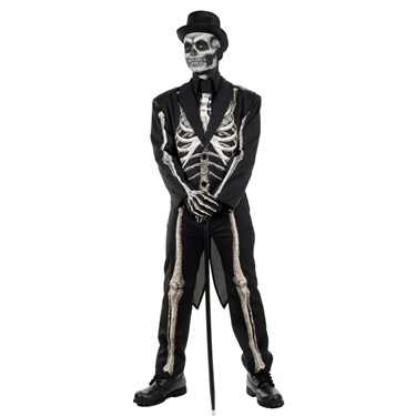 Bone Chillin Skeleton Adult Suit Costume
