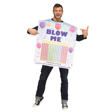Box of Candles Adult Costume