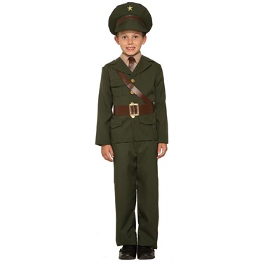 Boys  Army Officer Costume