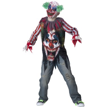 Boys Big Top Terror Costume