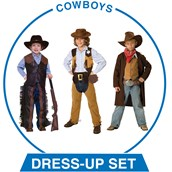 Boys Cowboys Dress-up Set
