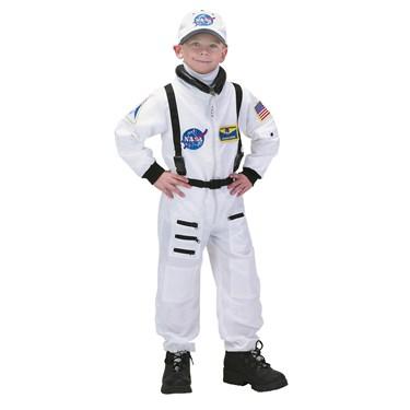 Boys Deluxe White Nasa Junior Astronaut