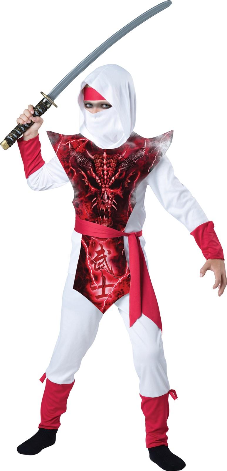 Boys Ghost Ninja Costume