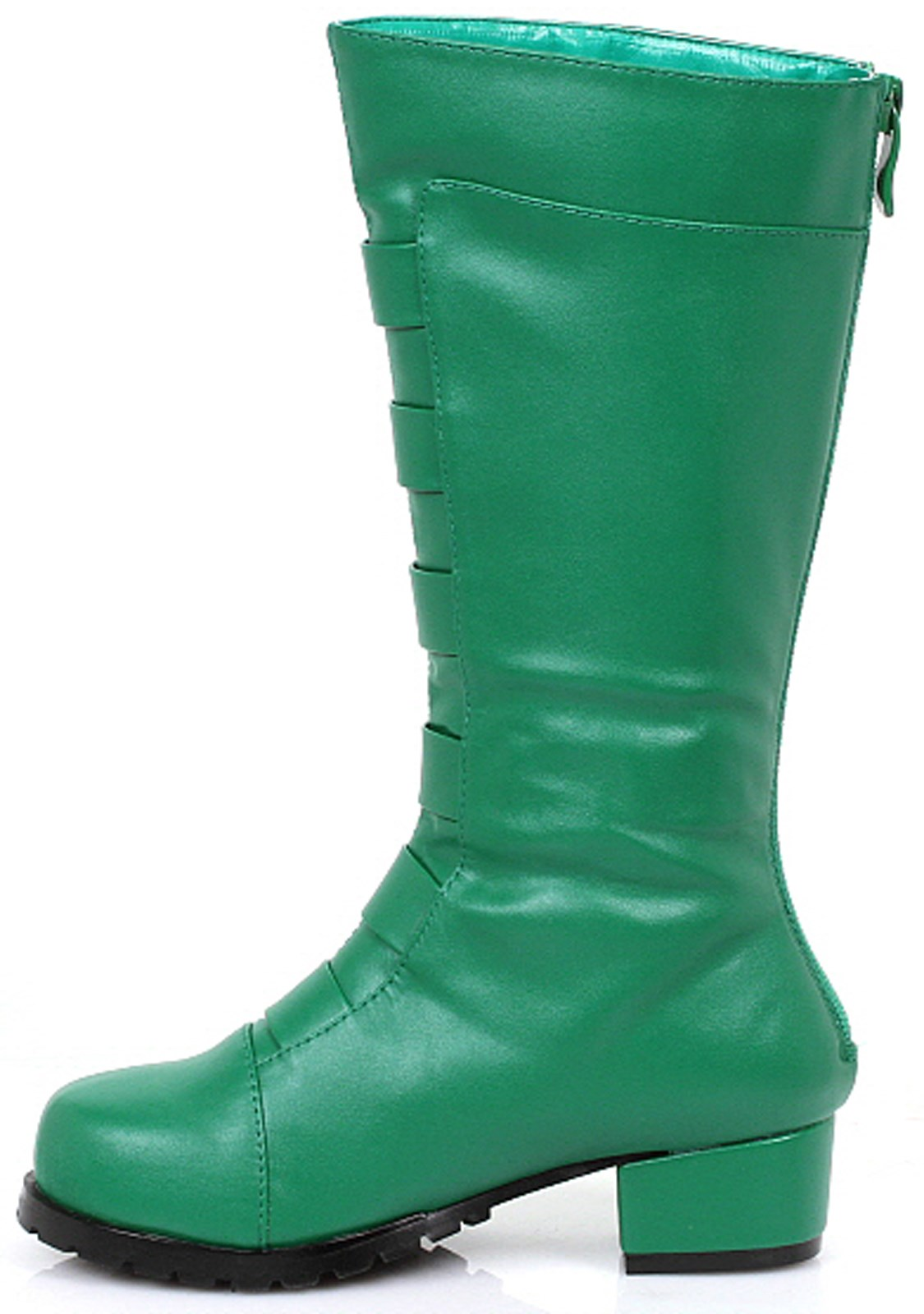 Boys Green Costume Boots