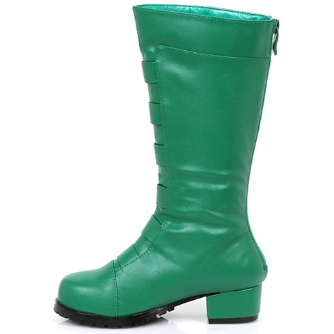 Boy's Green Costume Boots