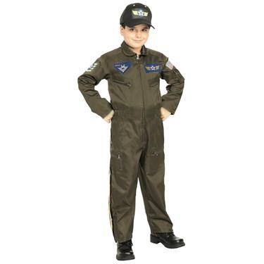 Boys Jr. Fighter Pilot Costume