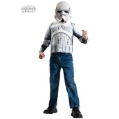 Boys Storm Trooper Muscle Chest Shirt Set