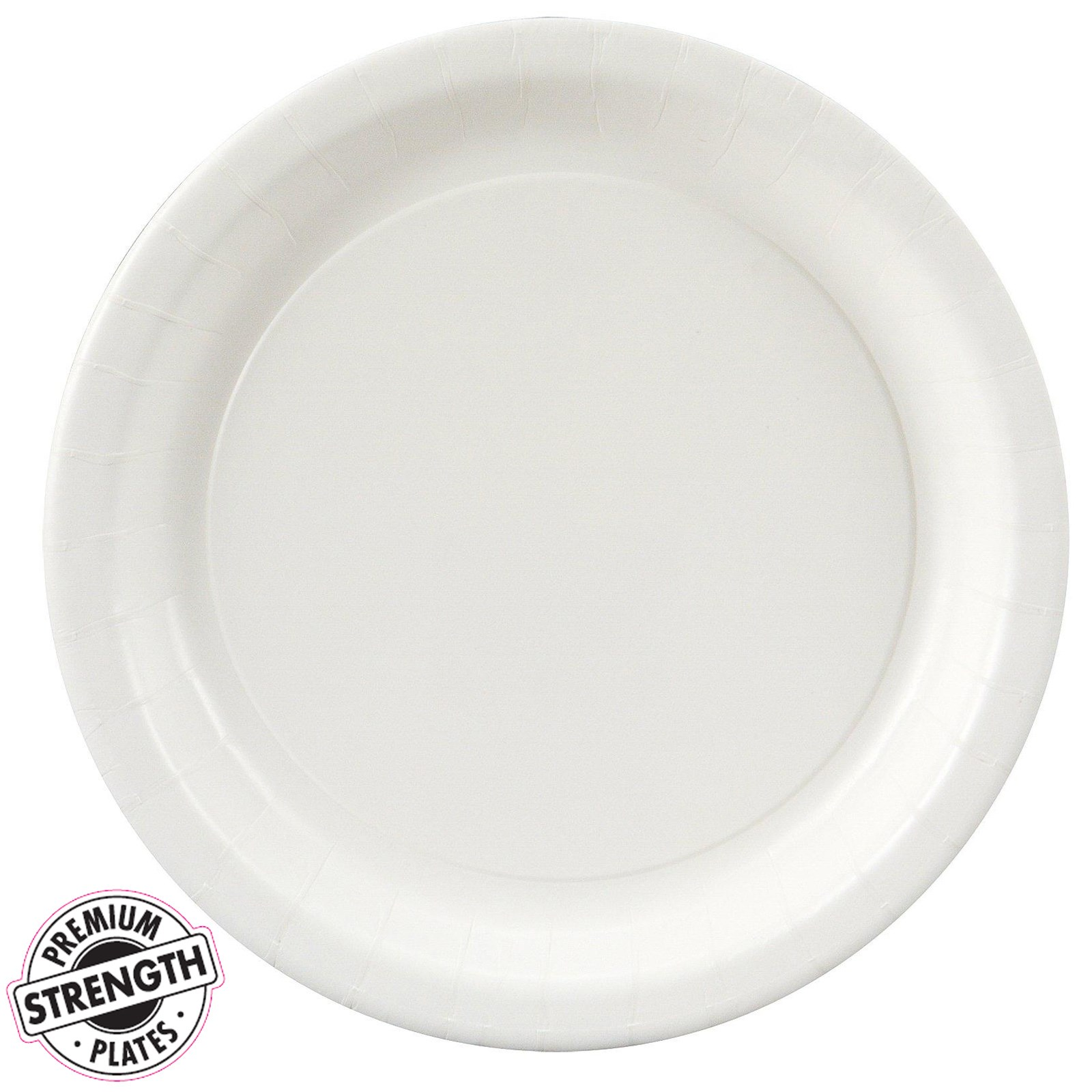 bright white white dessert plates 24 count. Black Bedroom Furniture Sets. Home Design Ideas