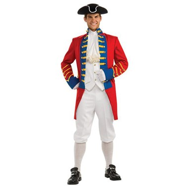 British Redcoat Regency Collection Adult Costume