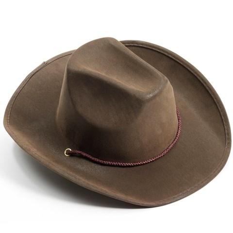 Brown Adult Cowboy Hat