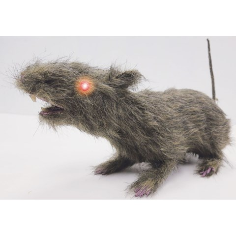 Brown Rat with Light Up Eyes