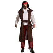 Buccaneer Baron Pirate Adult Costume