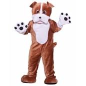 Bull Dog Deluxe Mascot Adult Costume