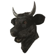 Bull Moving Mouth Adult Mask