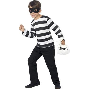 Burglar Costume Kit For Kids