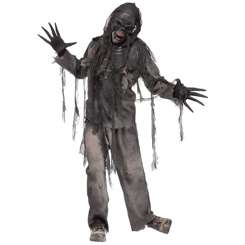 Burnt Zombie Costume For Adults