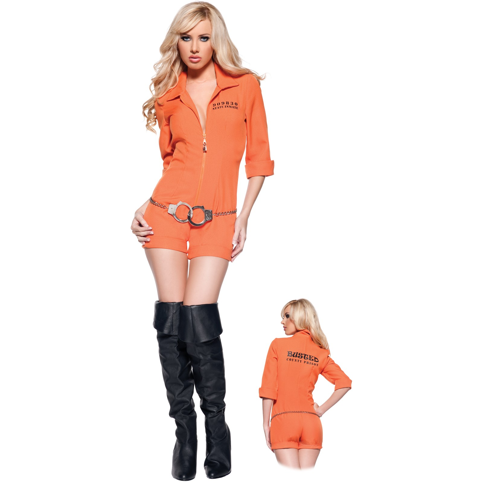 Busted Adult Costume | BuyCostumes.com