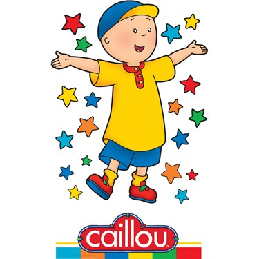 Caillou Standup - 5' Tall